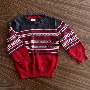 Boys' Fair Isle Sweater - 18-24m